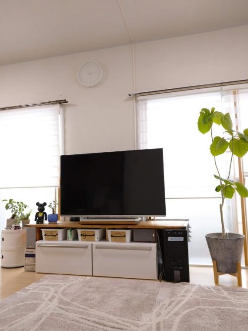テレビ台 DIY 賃貸