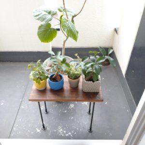 テーブル DIY 簡単 アイアン